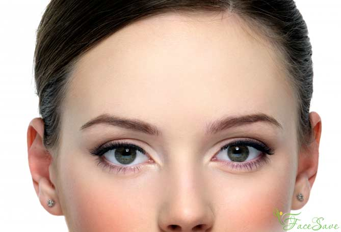 Камила Волер глаза и лоб