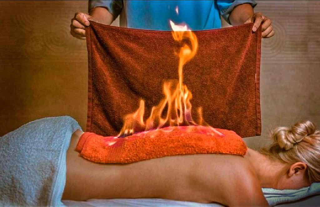 Огненный массаж заключение