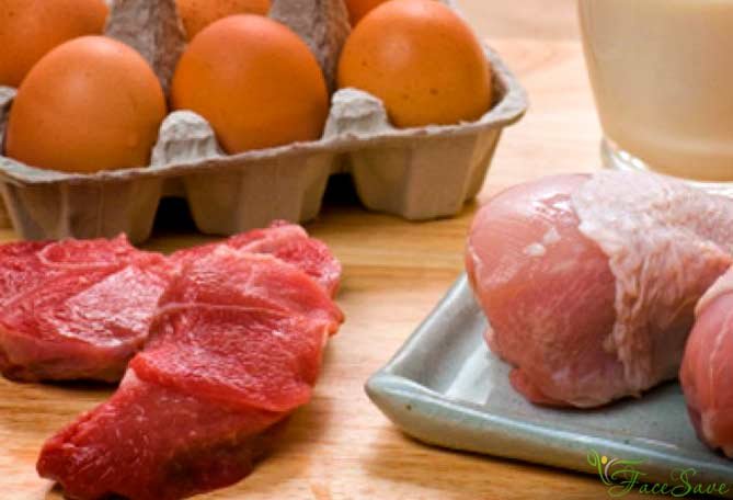 Мясо и яйцо