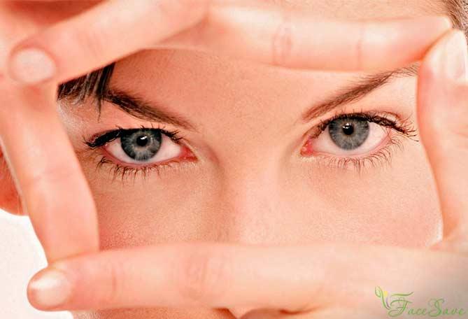 Упражнение для большего увеличения глаз