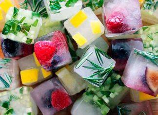 Рецепты льда для лица в домашних условиях