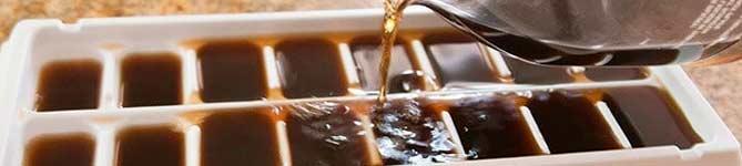 Лед из кофе