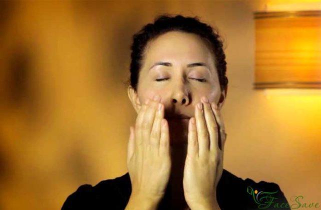 массаж коленей для похудения