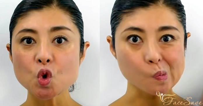Упражнение для молодости мышц вокруг рта