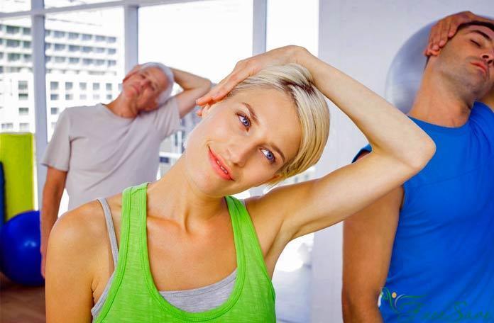 Упражнения для молодости шеи