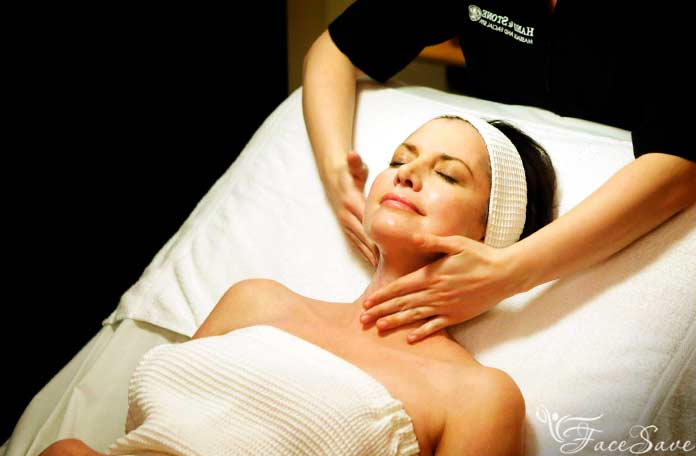 Проведения классического массажа лица