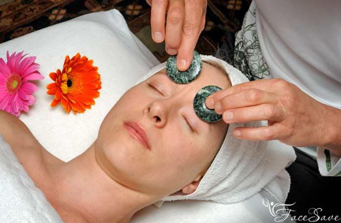 Порядок выполнения массажа камнями