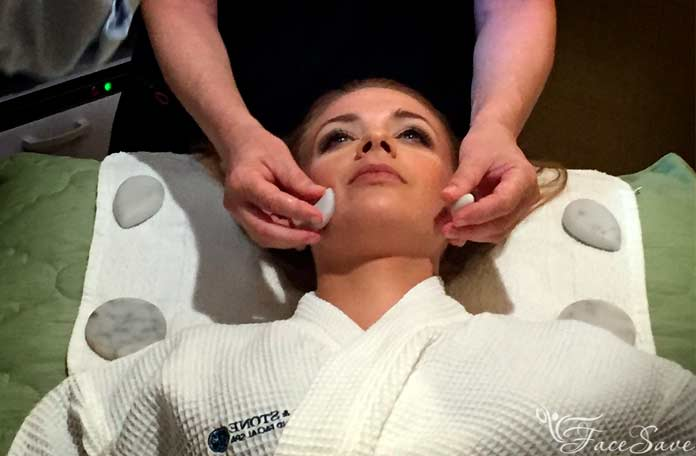 Стоимость массажа лица камнями