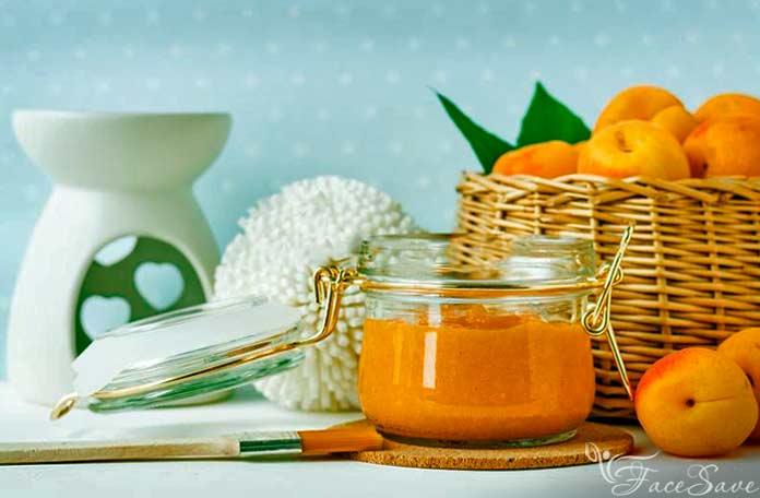 Маска с абрикосовым маслом