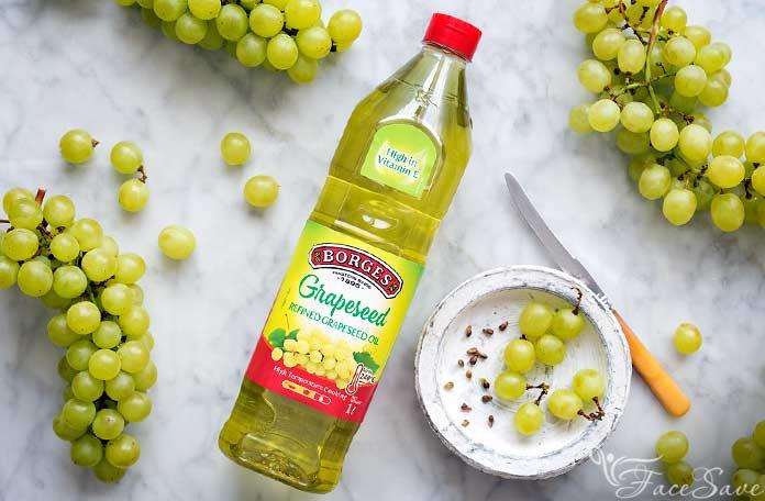 Масло виноградной косточки для лица польза