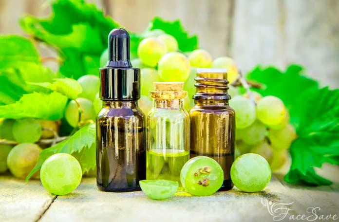 Виноградное масло от морщин