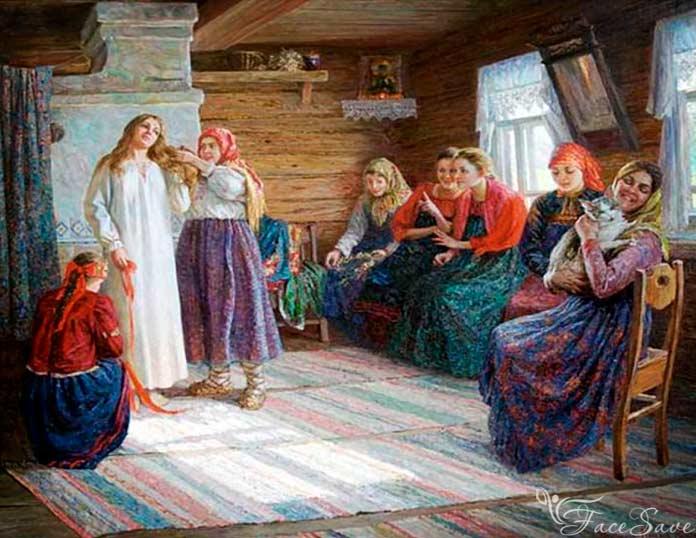 Косы плетут