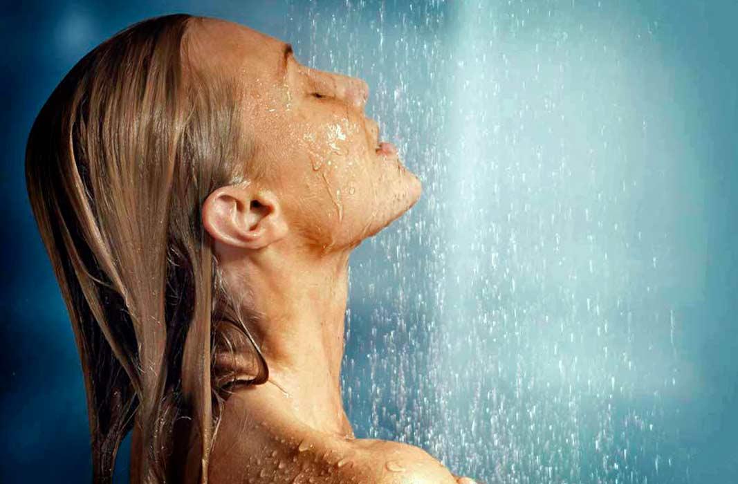 Водяной массаж лица