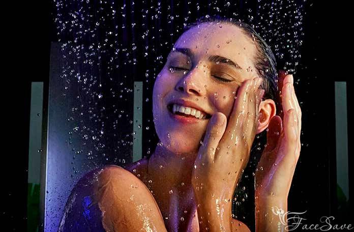 Водный массаж лица