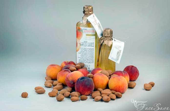Персиковое масло состав