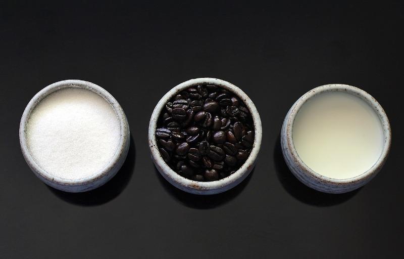 Скраб со сметаной и кофе
