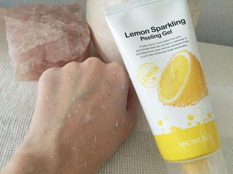 Secret Key Lemon sparkling peeling gel пилинг-скатка