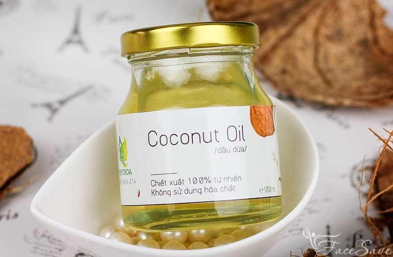 Кокосовое масло для полоскания рта