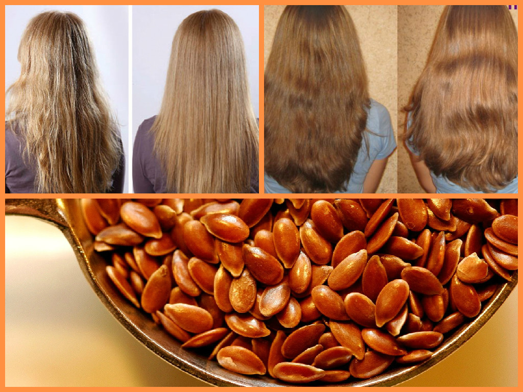 Льняное масло и уход за волосами