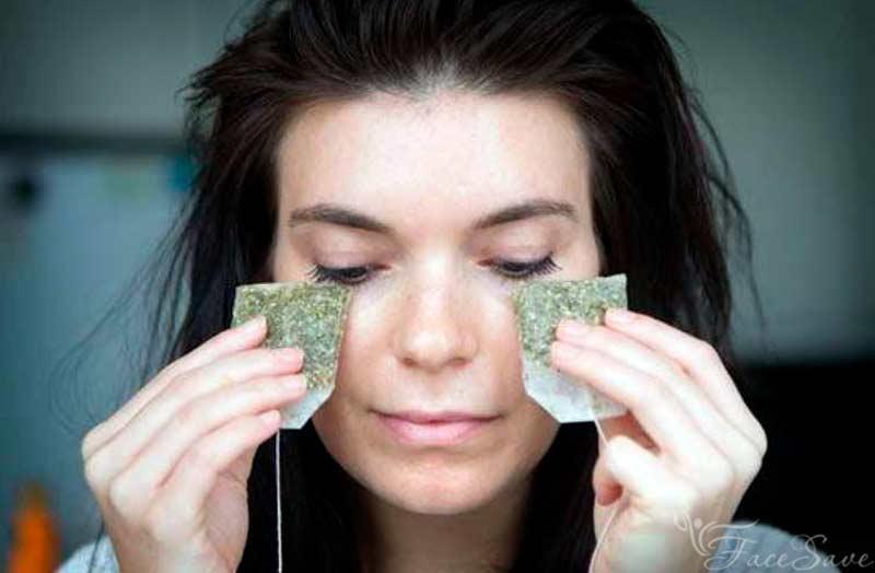 Как сделать патчи для глаз из чайных пакетиков